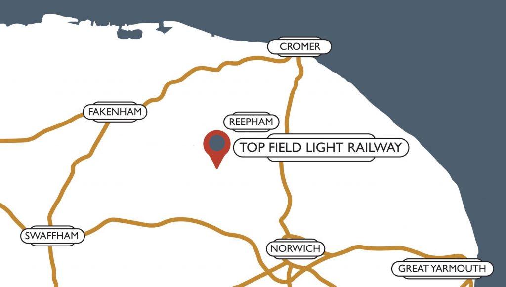 top field light railway map