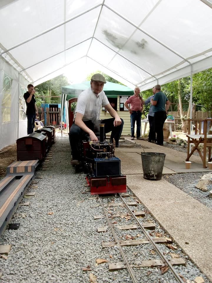 top field light railway whitwell and reepham railway rally chaloner