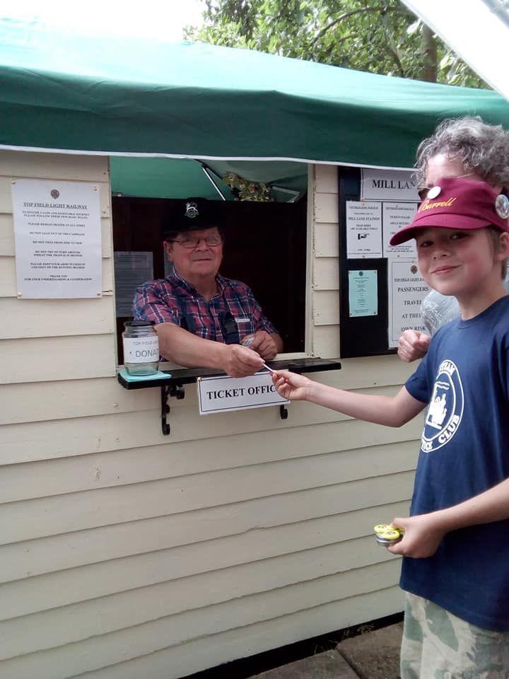 top field light railway ticket office