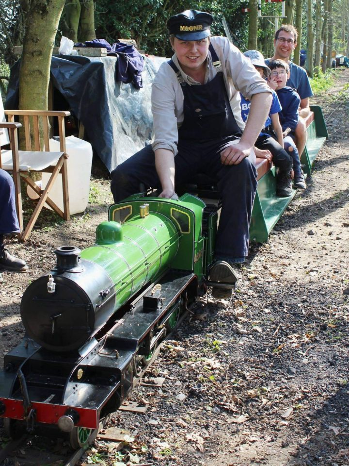 top field light railway k2 musnt grumble