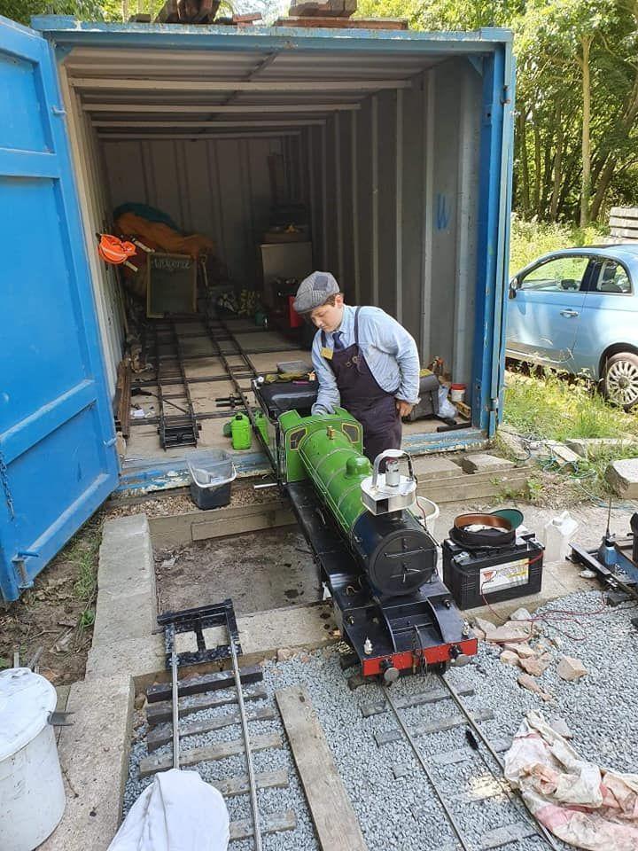 top field light railway minaiture mayhem gala k2 prep