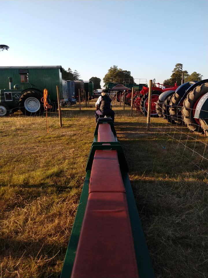 top field light railway at grand henham steam rally 2019