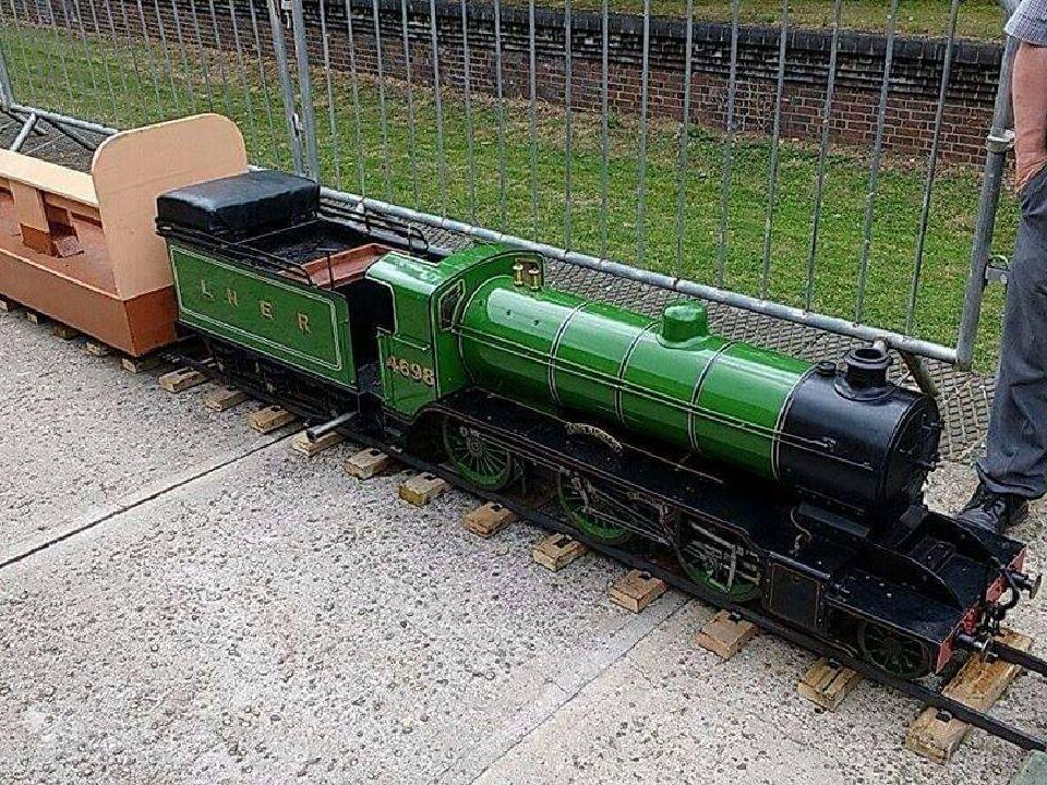 top field light railway k2