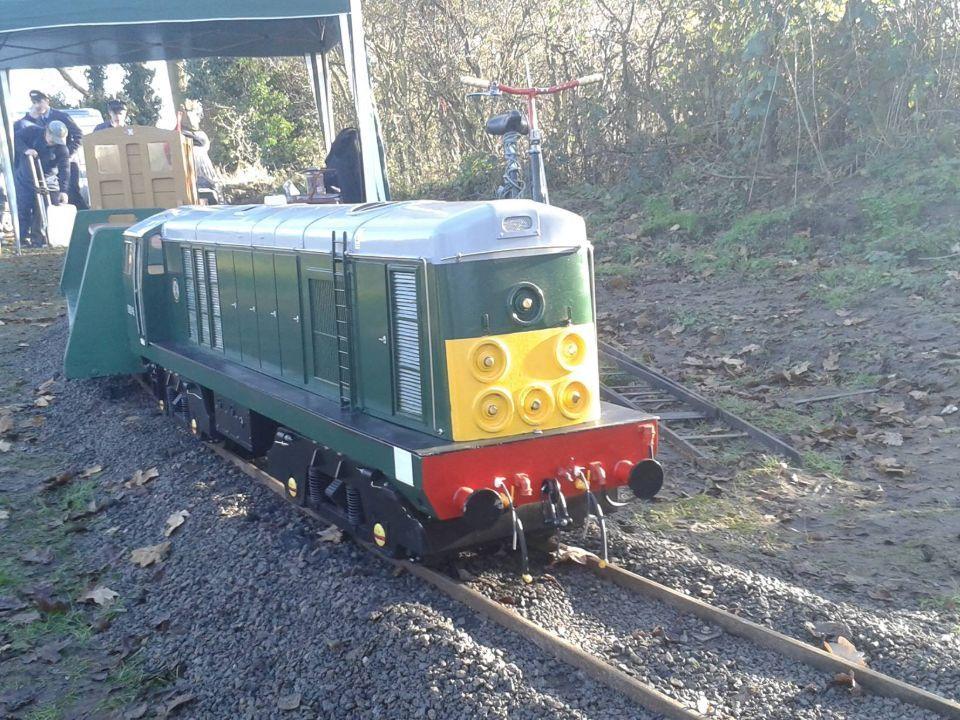 top field light railway class 20