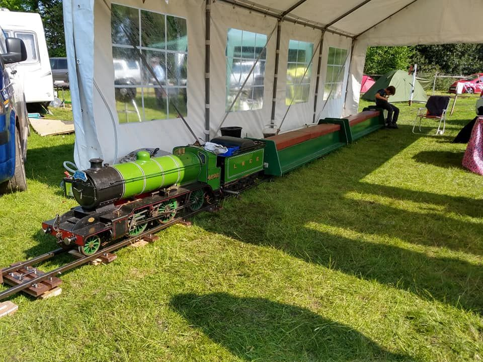 top field light railway at strumpshaw 2019
