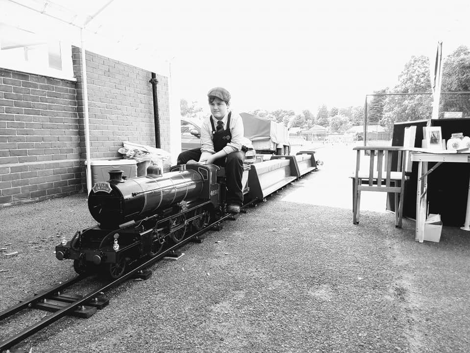 top field light railway k2 portable track