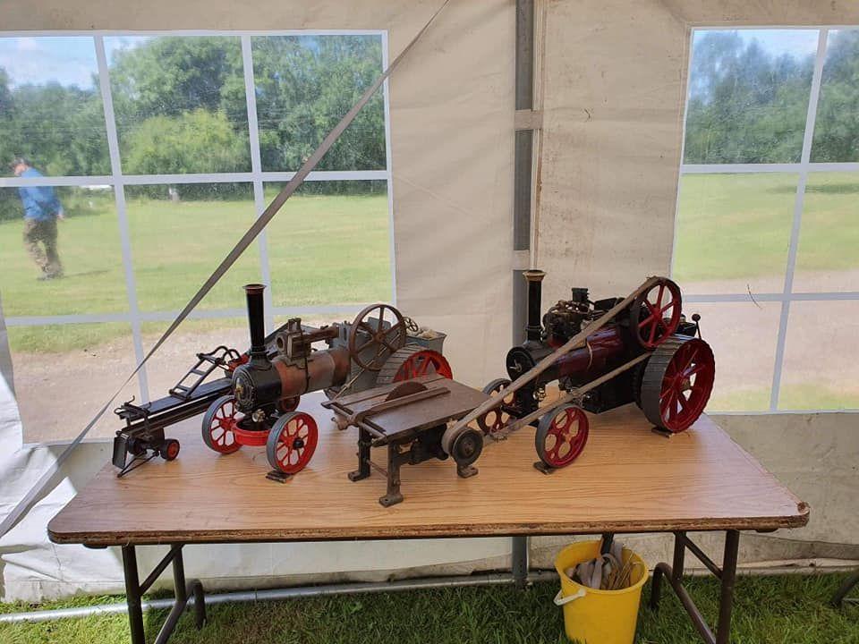 top field light railway traction engine