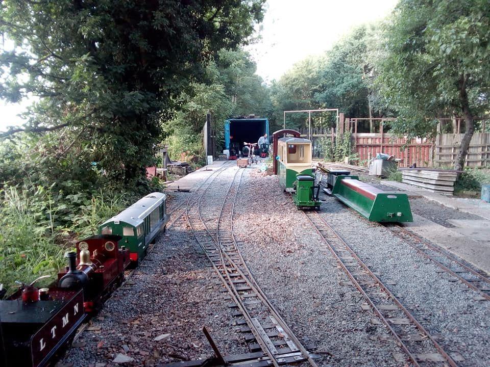 top field light railway yard