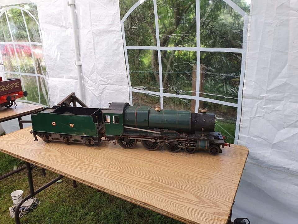 top field light railway 3 1/2 county class