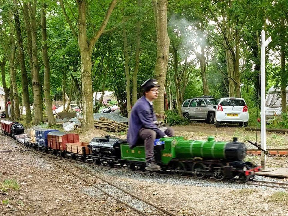 top field light railway goods
