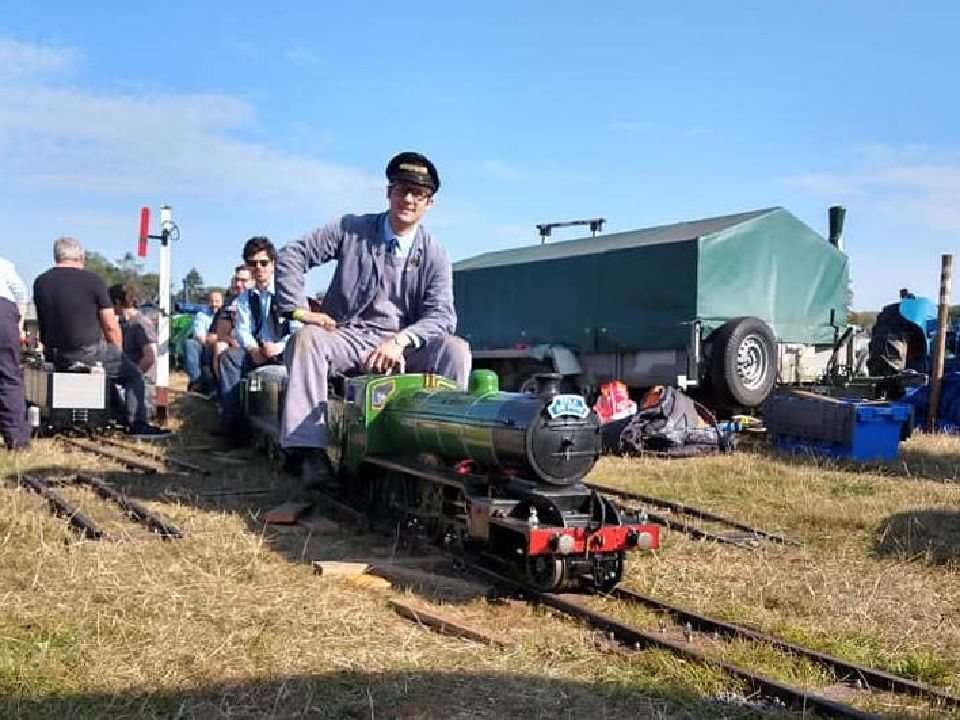 top field light railway at grand henham steam rally 2019