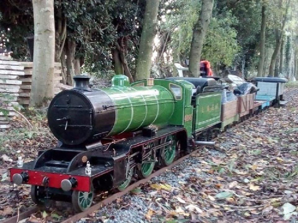 top field light railway k2 pway train