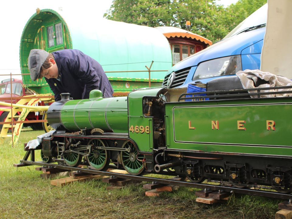 top field light railway at strumpshaw 2019 prep