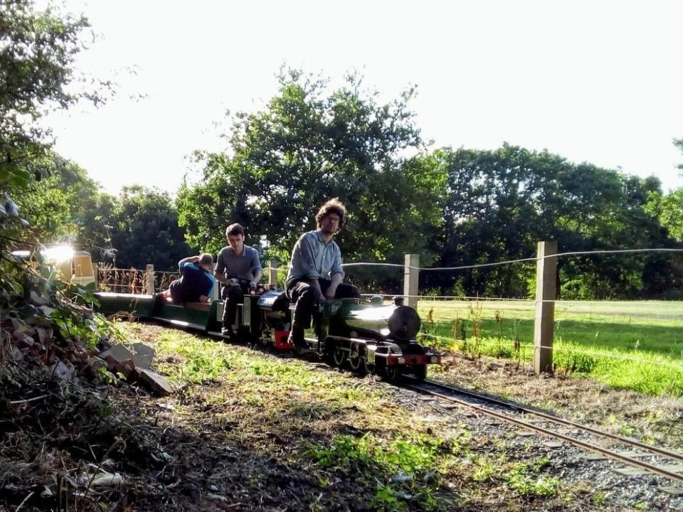 top field light railway tihany and k2 double header