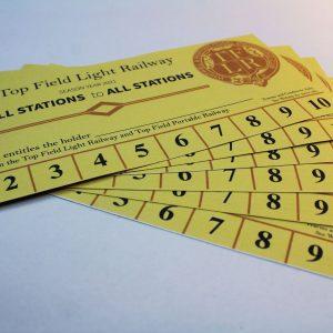 Top Field Light Railway 10 rides
